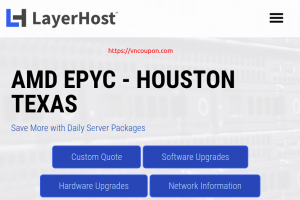 LayerHost – Special AMD EPYC Dedicated Server only $390/month – 16GB RAM / 120GB SSD / 1Gbps Unmetered