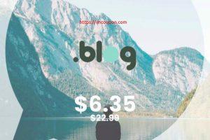 [Flash Sale] Get your .BLOG domain name for $6.35 (regular price $22.99) at NameSilo!