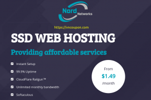 NordNetworks – 50% Off SSD Web Hosting from $7.49/year