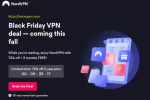NordVPN Black Friday 2021 Deal – 72% off + 3 months FREE!