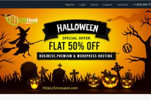 [Halloween 2021] OBHost – Up to 50% Off Web Hosting, VPS Hosting – 80% Off Domain Name