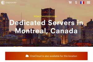 OneProvider – 30% Off Dedicated Servers in Montreal, Canada
