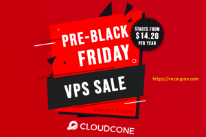 [Pre Black Friday 2021] CloudCone – Yearly Cloud VPS Sale from $14.20/Year