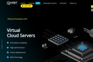 QHost – 20% Off on Shared Hosting, VPS Hosting, Windows VPS in Macedonia