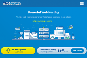 THCServers – Save 50% Off on Web, Reseller and VPS Hosting