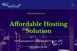 The Moth Host – Special Web Hosting from $9/Year