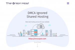 TheOnionHost – 20% Off DMCA Ignored Shared Hosting