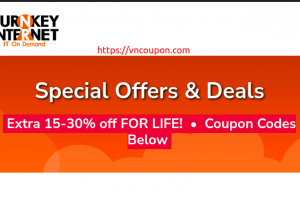 TurnKey Internet Dedicated Server Promos – Save 30% Off For Life Coupon