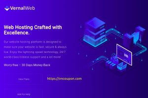 VernalWeb – 40% Off on all Managed VPS hosting plans on the first month!