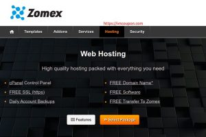 Zomex – Special Web Hosting from $11/year! 5% Off One Time Discount